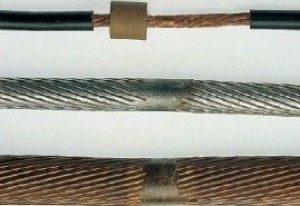 контактаня стуковая сварка сварка жил кабелей в муфтах