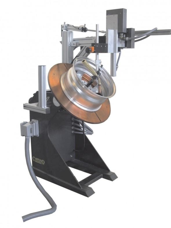 Установка для кольцевых швов на базе сварочного позиционера и держателя горелки